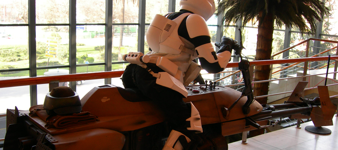 Speeder Bike para fan film